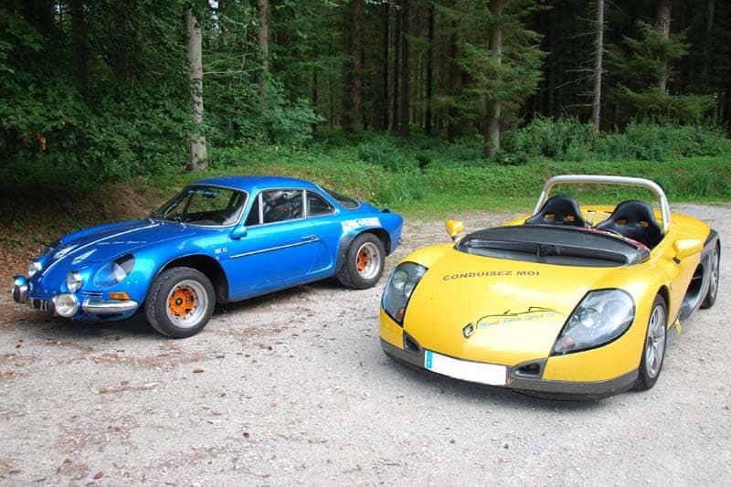 Alpine 1600 S et Spider Renault