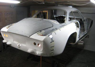 Reconstruction partie arrière