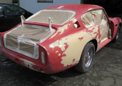 Restauration Aston Martin
